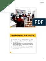 System of Writing 2015 PDF
