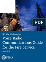 Voice Radio Communications Systems for the Fire Service (EXCELLENT !!)