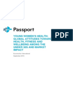 Young Womens Health Global Attitudes Towards Health Fitness and Wellbeing Among the Under 30s and Market Impact