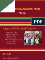childhood obesity- peru