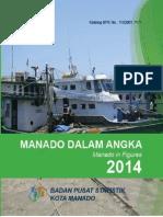 Manado Dalam Angka 2014