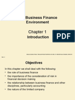Topic 1 Introduction to Business Finance