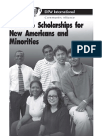 Scholarships for Minorities and New Americans