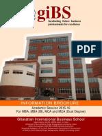 GIBS Information Brochure