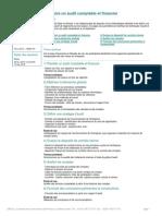 Condurie Un Audit Compable Et Financier