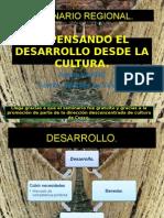 Repensando El Desarrollo Desde La Cultura