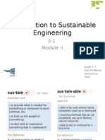 Introduction to Sustainable Engineering-Module-Introduction