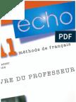 239283878 Echo A1 Livre Du Professeur