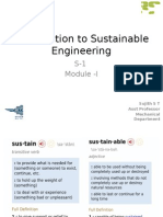 Introduction to Sustainable Engineering-Module-1