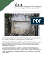 Locale Turnu Severin Tabula Traiana Mesajul Scris Piatra Imparatului Traian Rezista Malul Dunarii 2000 Ani 1 54e47666448e03c0fdbcb313 Index