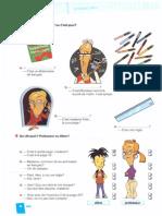 Fichas 1º Eso 1 Evaluación francés
