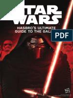 Star Wars 2015 Hasbro Catalog