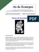 Diario de Ecatepec Noticias Febrero 16-28
