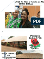Projeto Missionário Guine Bissau