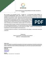 Comunicado ao Mercado sobre Aneel determina recontabiliza??o dos pagamentos por indisponibilidade de Parna?ba I, Parna?ba III e Pec?m II