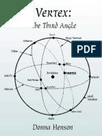 Vertex--The Third Angle X
