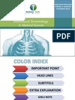 Anatomical Terminology & Skeleton System