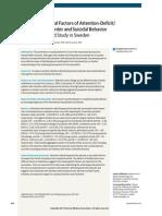 Common Etiological Factors of Attention-Deficit