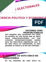 SISTEMAS ELECTORALES PERUANOS