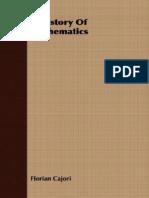 Cajori F.-a History of Mathematics(1894)