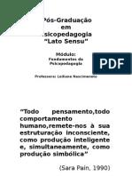 Apresentação Psicopedagogia