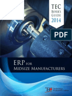 TEC 2014 ERP for Midsize Manufacturers Buyers Guide
