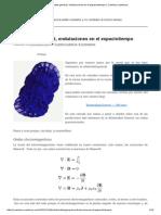 Relatividad General, Ondulaciones en El Espaciotiempo _ Cuentos Cuánticos