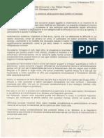 Lettera Gordiani