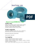 Audio Magnetic Shielding Inductance