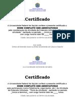 Modelos de Certificados AnexoII