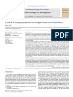A reviewofchangingperspectiveson Eucalyptus water-use inSouthAfrica