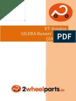 Gilera Runner 125 Fx Zapm07