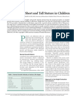 AAFP-Short and Tall Stature