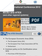 Day 2 1430-1500 Ron Sinclair Overview of National-Regional Schemes IECEx Dubai 2012