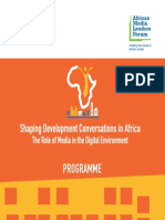 African Media Leaders Forum Amlf 2015 Agenda
