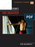 Tom McSorley - Atom Egoyan's 'the Adjuster' (Canadian Cinema)