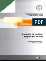INVESTIGACIÓN ESPECIAL N°903 DE 2015, RUTA VALDIVIA PICHOY