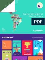 FutureBrand CBR América Latina 2015