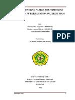 Laporan Perancangan Pabrik PolyLimonene Carbonate Berbahan Baku Jeruk Siam