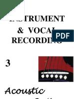 Snimanje Akusticne Gitare