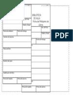 Ficha de Prestamo-biblioteca de Aula