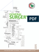 كتيب البرنامج - الجراحة العامة الزمالة السعودية