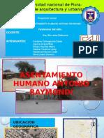 Asentamiento Humano Antonio Raymondi Proyeccion Social