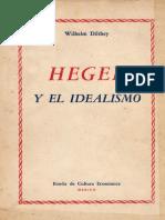 Hegel y El Idealismo