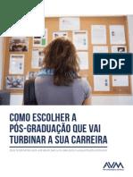 eBook Como Escolher a Pos Graduacao Que Vai Turbinar a Sua Carreira