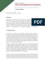 derechos humanos y politicas publicas (Plan Nacional de Derechos Humanos)