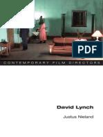 Justus Nieland - David Lynch (Contemporary Film Directors)