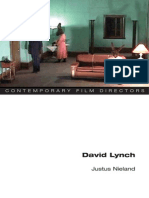 Justus Nieland - David Lynch (Contemporary Film Directors)