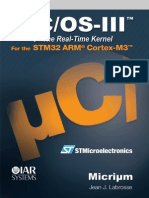uC OS III the Real-Time Kernel for the Kinectis ARM Cortex-M4