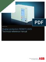1MRK505208-UUS D en Technical Reference Manual REB670 ANSI 1.2